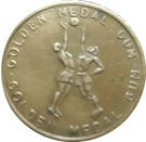 Golden Medal Gum (Volleyball) – obverse