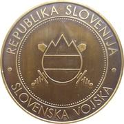 Token - Slovenska vojska (25. VTP) – reverse