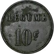 10 Сentimes / 1 Légume - Cuisine Populaire (Geneva) – reverse