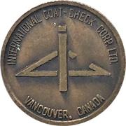 Token - International Coat-Check Corp. Ltd. (Vancouver, BC) – obverse