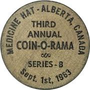 5 Cents - Coin-O-Rama (Medicine Hat, Alberta) – obverse