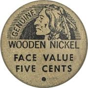 5 Cents - Coin-O-Rama (Medicine Hat, Alberta) – reverse