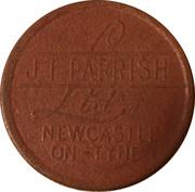 1 Penny - J. T. Parrish (Newcastle on Tyne) – obverse