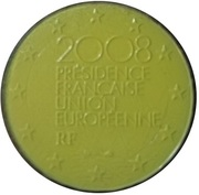 2 Euro (French Presidency of the EU; colored) – obverse