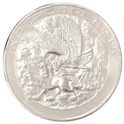 Medal - 150th Anniversary Constitution Apatzingan – reverse