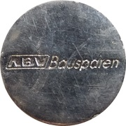 Shopping Cart Token - ABV Bausparen – obverse