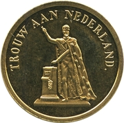 Token - Willem III Coronation – obverse