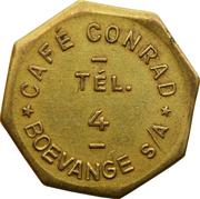 Token - Café Conrad (Boevange-sur-Attert) – obverse