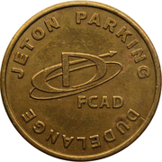 Parking Token - FCSD (Dudelange) – obverse