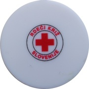 Shopping Cart Token - Slovenian Red Cross – obverse