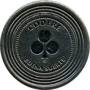 1 Token - Codere – obverse