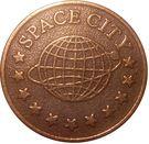 Amusement Token - Space City – reverse