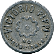 Token - Victorio Pippi vineyards (1) – obverse