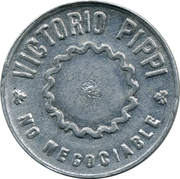 Token - Victorio Pippi vineyards (10) – obverse