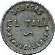 Token - Bodegas El Tala – obverse