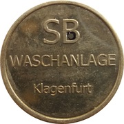 Car Wash Token - Top Carwash (Klagenfurt) – reverse