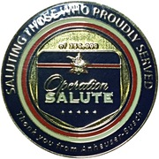 Challenge Coin - Anheuser Busch (Operation Salute) – obverse