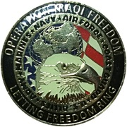 Challenge Coin - Anheuser Busch (Operation Salute) – reverse
