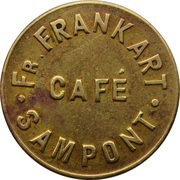 Token - Café Frankart (Sampont) – obverse