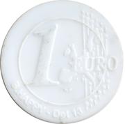 Shopping Cart Token - Leclerc (1 Euro) – reverse