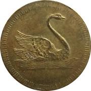 Spiel Marke (Swan) – obverse