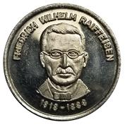 Token - Friedrich Wilhelm Raiffeisen – obverse