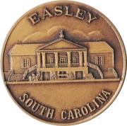 Token - Easley, South Carolina Centennial – obverse