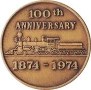 Token - Easley, South Carolina Centennial – reverse