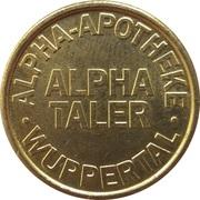 Alpha Taler - Alpha Apotheke (Wuppertal) – reverse
