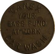 Car Wash Token - Canex (Camp Borden, Ontario) – reverse