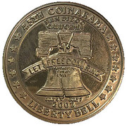 Medal - Inter-Club Numismatic Council (45th Coinarama, Liberty Bell) – obverse