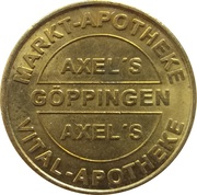 1 Bonus-Taler - Markt Apotheke & Vital Apotheke (Göppingen; Kornhaus) – obverse