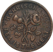 Farthing Token - Harrison & Co. – obverse