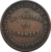 Farthing Token - Harrison & Co. – reverse