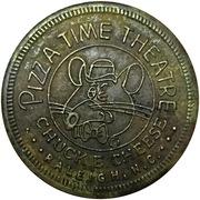 25 Cents - Chuck E. Cheese (Raleigh, North Carolina) – obverse