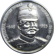 Switzerland Military General Series - Gen. Ulrich Wille - WWI – obverse