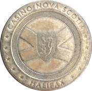 Token - Casino Nova Scotia (Halifax) – obverse