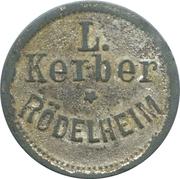 Token - L. Kerber (Rödelheim) – obverse
