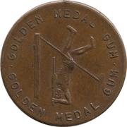 Golden Medal Gum (Pole vaulting) – obverse