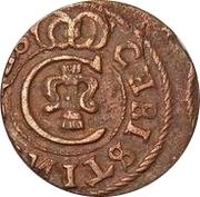 1 Solidus - Imitating Christina, 1632-1654 (Suceava counterfeit; type B1) – obverse