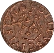 1 Solidus - Imitating Christina, 1632-1654 (Suceava counterfeit; type B1) – reverse