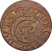 1 Solidus - Imitating Christina, 1632-1654 (Suceava counterfeit; type B3) – obverse
