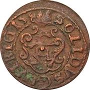 1 Solidus - Imitating Christina, 1632-1654 (Suceava counterfeit; type B3) – reverse