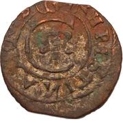 1 Solidus - Imitating Christina, 1632-1654 (Suceava counterfeit; type B2) – obverse