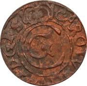 1 Solidus - Imitating Carl X Gustav, 1654-1660 (Suceava counterfeit; type 1) – obverse