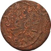 1 Solidus - Imitating Carl X Gustav, 1654-1660 (Suceava counterfeit; type 3) – reverse