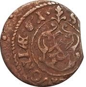1 Solidus - Imitating Carl X Gustav, 1654-1660 (Suceava counterfeit; type 2) – reverse