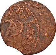 1 Solidus - Imitating Carl XI, 1660-1697 (Suceava counterfeit; type 1) – obverse