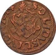 1 Solidus - Imitating Carl XI, 1660-1697 (Suceava counterfeit; type 2) – reverse