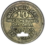 10 Cents - Diamond Coal Mining Co. (Dayton) – reverse